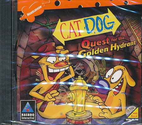 Nickelodeon's CatDog: Quest for the Golden Hydrant - PC - 1