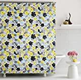 "Home Candy Floral Bliss PEVA Shower Curtain - 70""x70"", Multicolor"