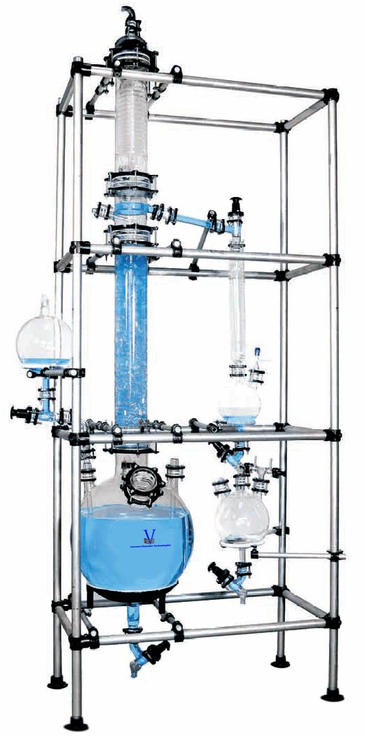 200 Liter Glass Pilot Plant Reactor, SPHERICAL - for Lab or Production Chemical Synthesis, Distillation, Purification, Fractional Distillation & Separation awanish kumar production and purification of cellulase from lignocellulosic wastes