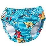 Swim Diaper - Blue Octopus 3T