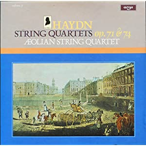 Joseph Haydn - Aeolian String Quartet The Aeolian String Quartet Volume Two - The Early Quartets