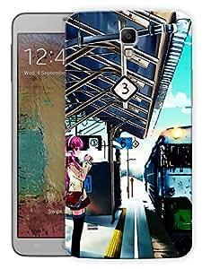"""Humor Gang Train Platform Life Printed Designer Mobile Back Cover For """"Samsung Galaxy Mega 6.3"""" (3D, Matte, Premium Quality Snap On Case)"""