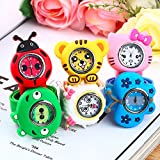 Alcoa Prime Boys Girls Children New1pcs Fashion Animal Slap Snap On Silicone Wrist Watch Kids Gift Newest