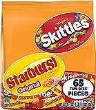Skittles and Starburst 31.9 Ounce Fun Size Bag, Original