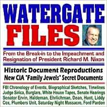 Impeachment Of Nixon Watergate Files - CIA ...