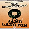 The Shortest Day: Murder at the Revels Audiobook by Jane Langton Narrated by Mark Ashby