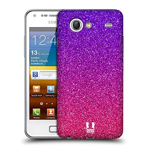 Head Case Designs Glitter Sfumati Trend Mix Back Cover Protettiva Clicca e Metti per Samsung Galaxy S Advance I9070