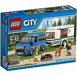LEGO City Great Vehicles Van and Caravan (250 Piece)