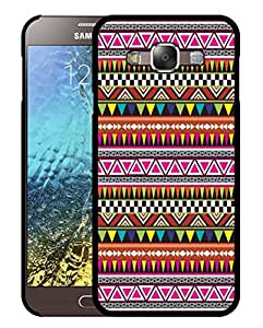 Purple Samsung A7 Case Back Cover Tribal Prints For Girls
