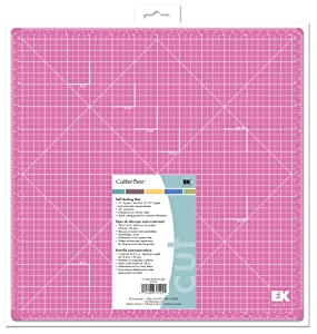 EK Success 13-by-13-Inch Cutter Bee Self-Healing Pink Mat, Old Package