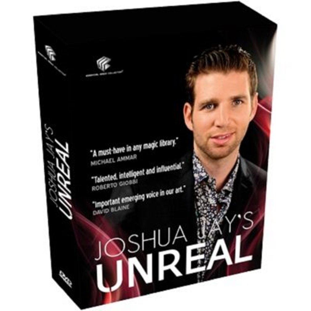 Unreal by Joshua Jay - DVD by MAGIC FROM THE MIND OF JOSHUA JAY