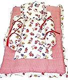 Baby Basics - Red & White Bedding Set