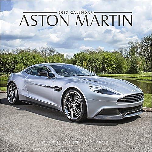 Aston Martin 2017 Wall Calendar