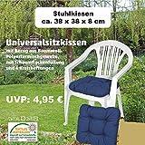 6-Sitzkissen-38x38x7-cm-Susa-uni-blau-Universalkissen-Kissen-Stuhlkissen