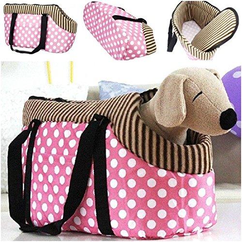 eloquent-modern-pet-handbag-size-l-puppy-outdoor-dog-portable-dog-portable-color-pink-dots