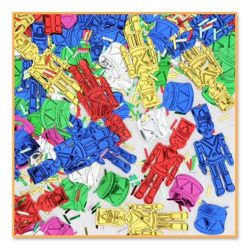 Beistle Toy Soldiers Confetti, Multicolored