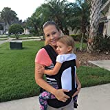 Ergonomic Baby Carrier for Infants and Toddlers – 3 Carrying Positions – 100% Cotton Machine Washable! High Quality Adjustable Baby Sling Carrier – Makes the Perfect Baby Shower Gift!