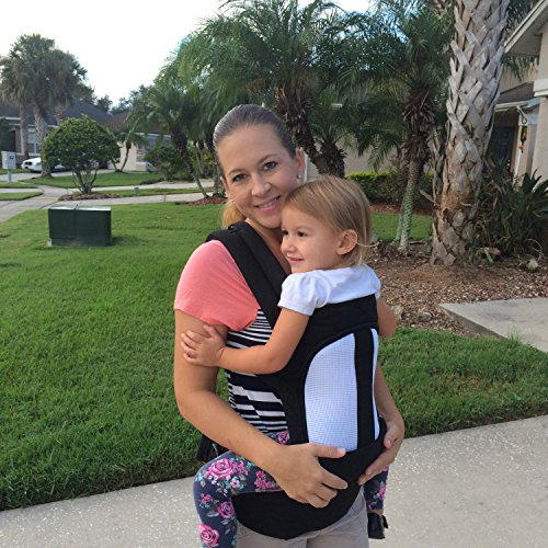 Best Review Of Ergonomic Baby Carrier for Infants and Toddlers - 3 Carrying Positions - 100% Cotton ...