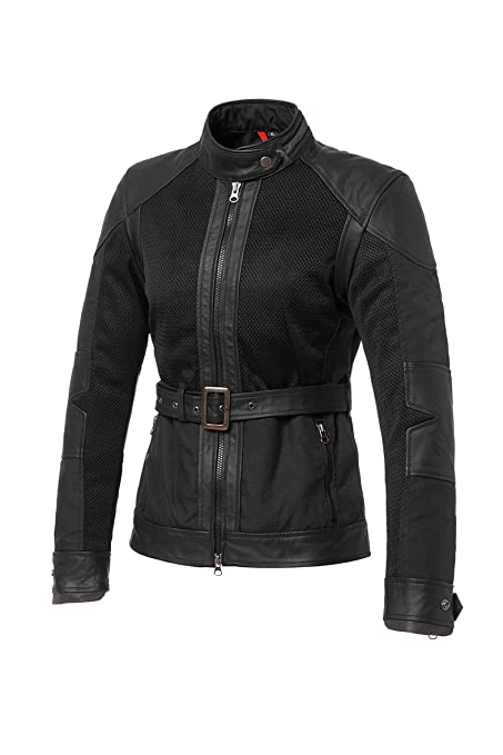 Tucano urbano 8941WF018N4 sELVAGGIA-women's, insert en mesh pour homme real cuir/nylon, inner and amovible lining showerproof coupe-vent-noir-taille m