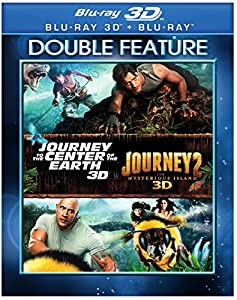 JOURNEY TO THE CENTER OF THE EARTH 1&2 -3D (2 BD) [Blu-ray] from Warner Home Video