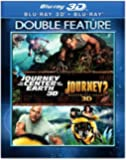 Journey to the Center of the Earth 3D / Journey 2: The Mysterious Island 3D [Blu-ray]