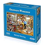 Gibsons Grandad's Workshop Jigsaw Puz...