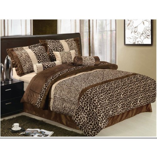 Zebra Print Comforter Queen