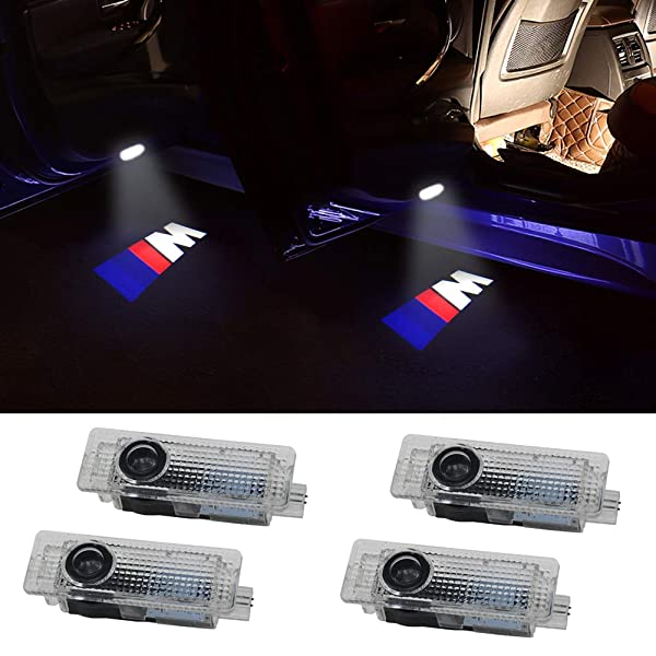 Grolish Easy Installation Car Door LED Logo Projector Cree LED Door Step Courtesy Lights for Acura