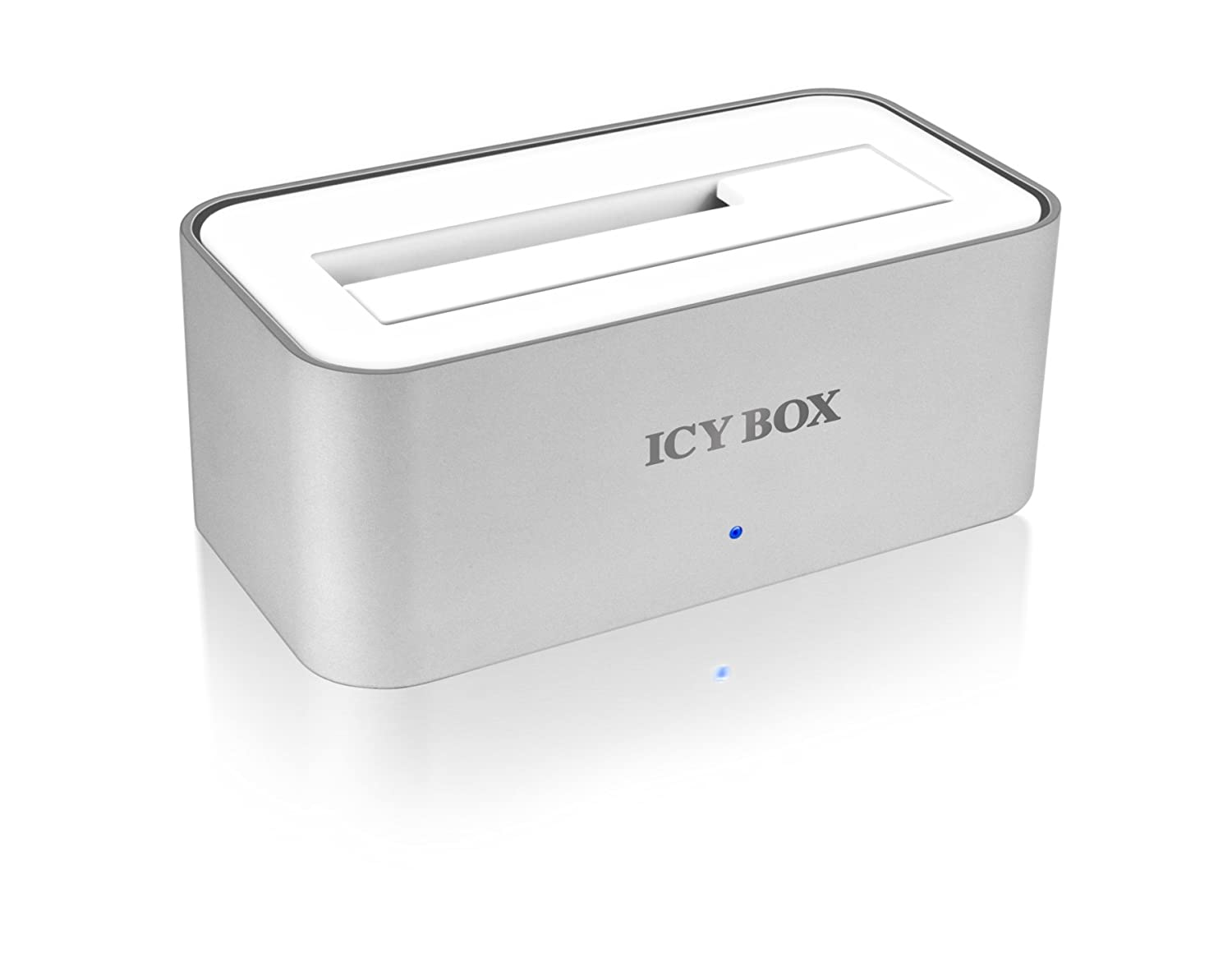 Dock Disque Dur ICYBOX IB111STUS2WH BLANC