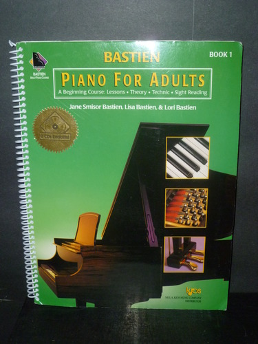 good piano books for adults