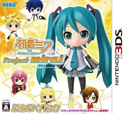 初音ミク and Future Stars Project mirai ぷちぷくパック(限定版) 特典 ミニトートバッグ ミライ ノ トート付き