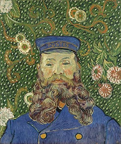 Oil Painting 'Vincent Van Gogh-Portrait Of Joseph Roulin,1889', 20 x 24 inch / 51 x 60 cm , on High Definition HD canvas prints is for Gifts And Bath Room, Gym And Hallway Decoration, buy (Manual Tile Cutter 24 Inch compare prices)