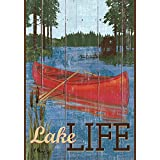 Rustic Lake Life Summer House Flag Camping Outdoor Decorative Banner 28