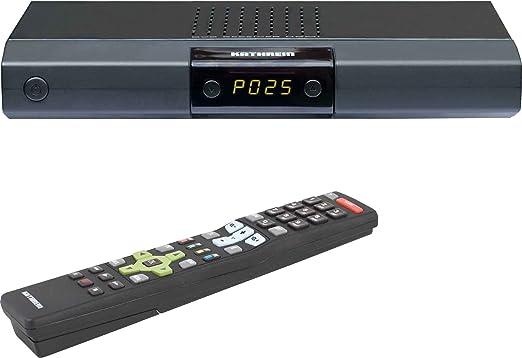 Kathrein UFT 676 Récepteur TNT 2 x fiches péritel, HDMI, FTA Noir