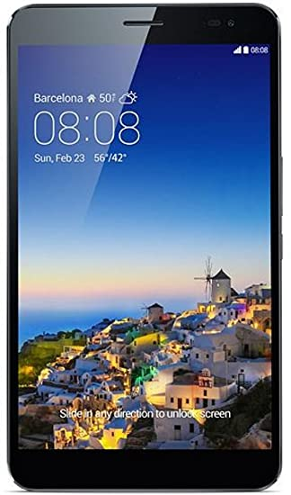 Huawei MediaPad X1 7.0 Tablette Tactile (17,8 cm (7'') écran, 1,6 GHz-Quad Core-processeur, 2Go RAM, 16Go HDD, LTE, Android 4.2) (Import Europe)
