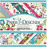 Eno Greeting Size 8X8 Inch 20 Design 40 Sheet Patterned Paper / Craft Paper/ Origami Paper DSM005 (SWEET LIFE)