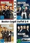 Boston Legal Season 1-4 (DVD)