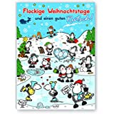 "sheepworld Adventskalender ""Flockige Weihnachten"", 1er Pack"