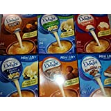 International Delight Mini I.D.'s Coffee Creamer Sampler #2 24 Count Box Variety Pack of 6 Different Flavors, (1 Box of 24 of Each Flavor) 144 Single Serve Cups