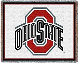 Ohio State Univ - 69 x 48 Blanket/Throw - Ohio State Buckeyes