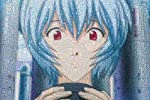 1000ピース ジグソーパズル 新世紀エヴァンゲリオン モザイクアート 綾波レイ(50x75cm)