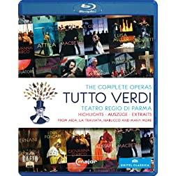 Tutto Verdi Highlights [Blu-ray]