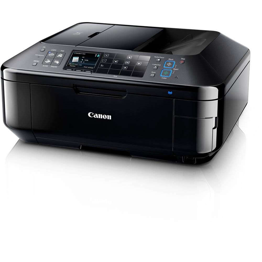 new canon pixma mx892 wireless color photo printer with scanner copier and fax ebay. Black Bedroom Furniture Sets. Home Design Ideas