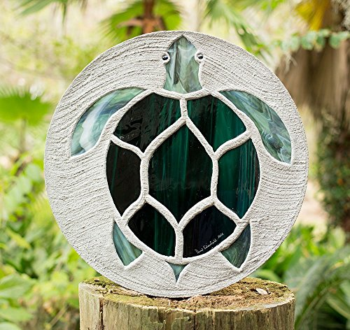 sea-turtle-stained-glass-stepping-stone