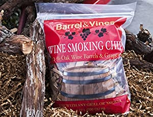 Wine Smoking Chips from California Vineyards by Premier Woods Inc.