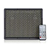Newest Aputure Amaran HR672S CRI95+ 672 Small Beam Angle LEDs Video Light DV Lamp with Wireless Remote for Nikon Canon Digital Camera Video Camcorder+2X Lithium F970 battery+Orange & White Diffusion Filters