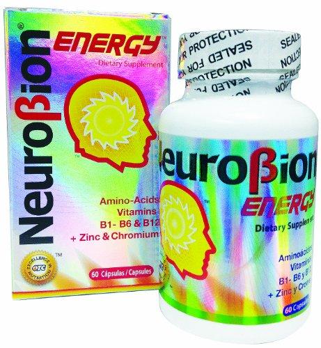 3 PACK Neurobion Energy - Amino Acids Vitamin B1 B2 B6 B12 - Increases Brain Alertness & Stamina