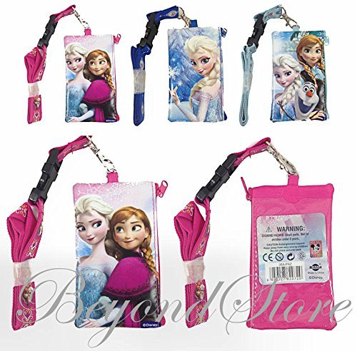 3PC Disney Frozen KeyChain Lanyard Fastpass ID Ticket Holder - 1