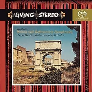 """Mendelssohn : Symphonie n° 4 """"Italienne"""" & n° 5 """"Réformation"""" [Hybrid SACD]"""