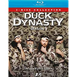 Duck Dynasty Season 3 Blu-ray